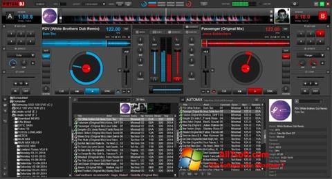 Ảnh chụp màn hình Virtual DJ cho Windows 7