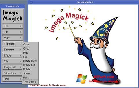 Ảnh chụp màn hình ImageMagick cho Windows 7
