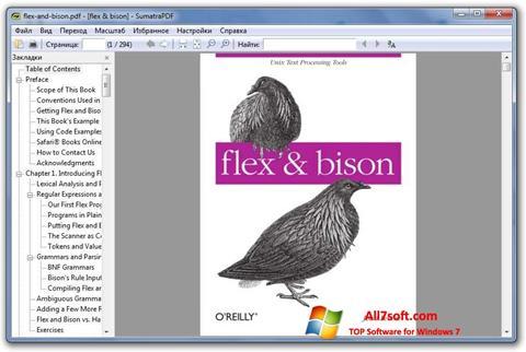 Ảnh chụp màn hình Sumatra PDF cho Windows 7