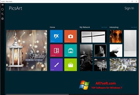 Ảnh chụp màn hình PicsArt cho Windows 7