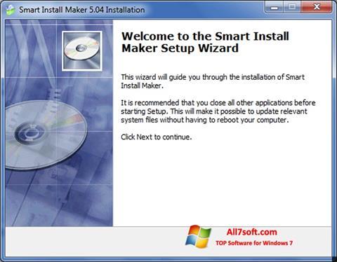 Ảnh chụp màn hình Smart Install Maker cho Windows 7