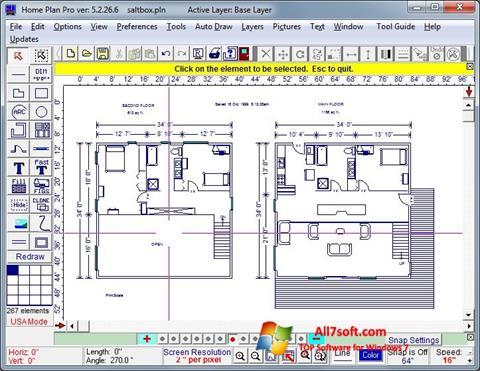 Ảnh chụp màn hình Home Plan Pro cho Windows 7