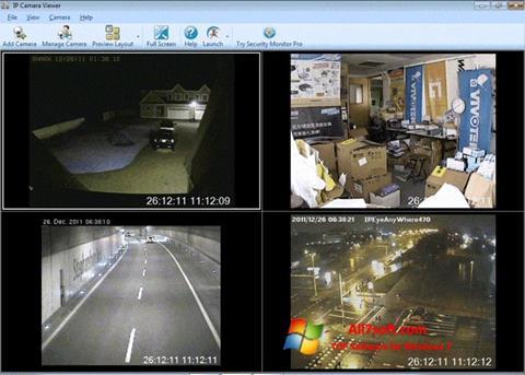 Ảnh chụp màn hình IP Camera Viewer cho Windows 7