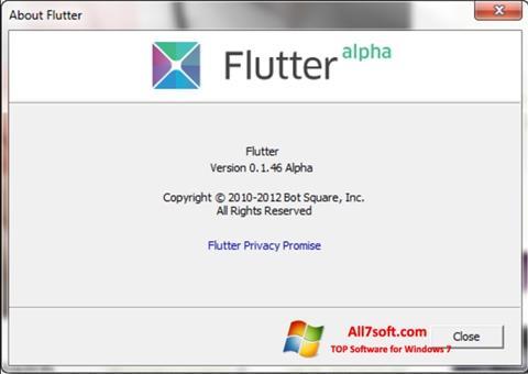 Ảnh chụp màn hình Flutter cho Windows 7