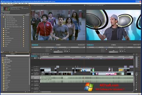 Ảnh chụp màn hình Adobe Premiere Pro cho Windows 7