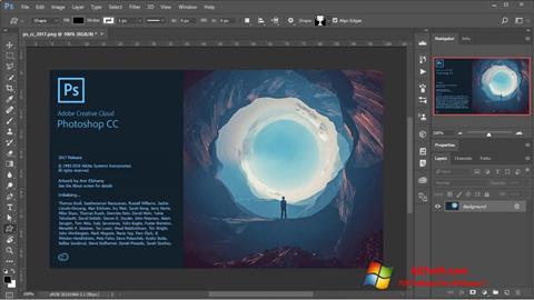 Ảnh chụp màn hình Adobe Photoshop cho Windows 7
