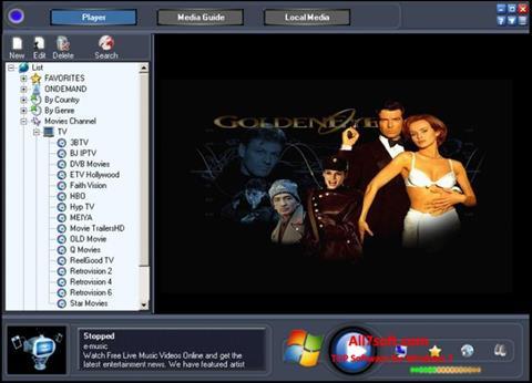 Ảnh chụp màn hình Online TV Live cho Windows 7