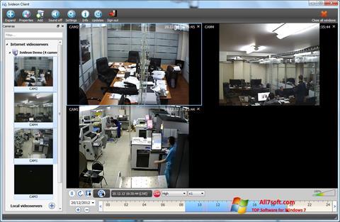 Ảnh chụp màn hình Ivideon Server cho Windows 7