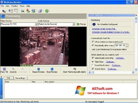 Ảnh chụp màn hình WebCam Monitor cho Windows 7