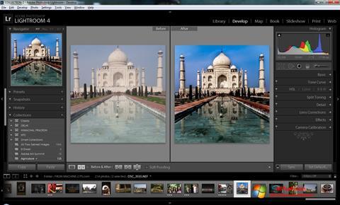 Ảnh chụp màn hình Adobe Photoshop Lightroom cho Windows 7