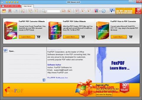 Ảnh chụp màn hình VSD Viewer cho Windows 7