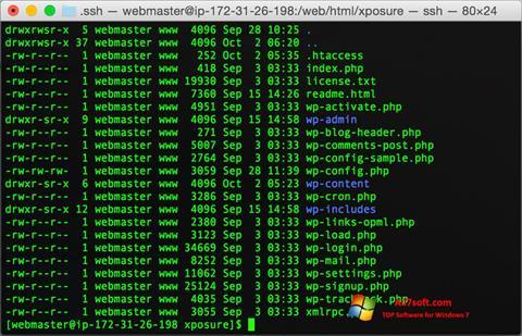 Ảnh chụp màn hình Wget cho Windows 7