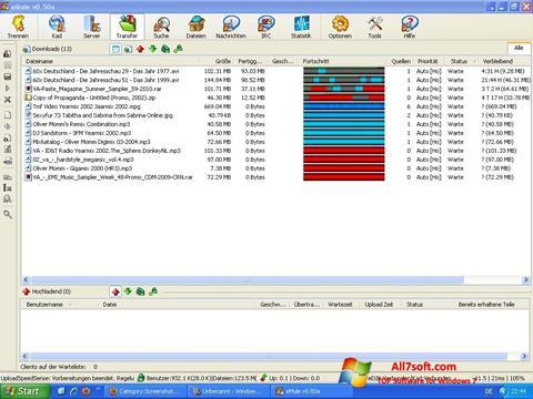 Ảnh chụp màn hình eMule cho Windows 7