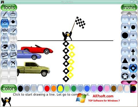 Ảnh chụp màn hình Tux Paint cho Windows 7
