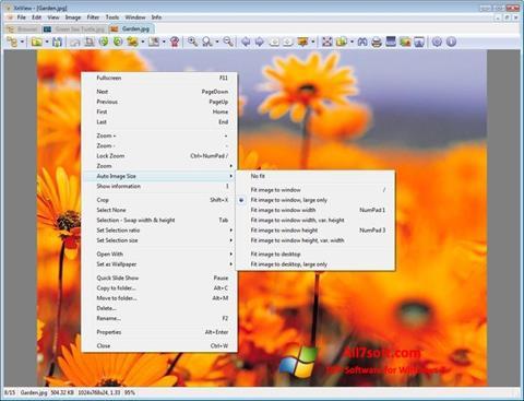 Ảnh chụp màn hình XnView cho Windows 7