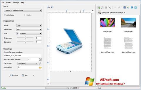 Ảnh chụp màn hình WinScan2PDF cho Windows 7