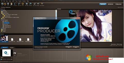 Ảnh chụp màn hình ProShow Producer cho Windows 7