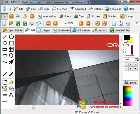Ảnh chụp màn hình PDF Reader cho Windows 7
