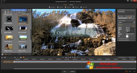 Ảnh chụp màn hình Pinnacle Studio cho Windows 7