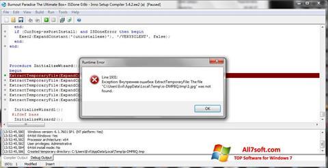 Ảnh chụp màn hình Inno Setup cho Windows 7