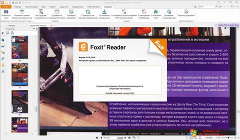 Ảnh chụp màn hình Foxit Reader cho Windows 7