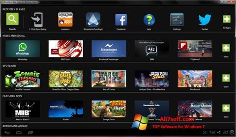 Ảnh chụp màn hình BlueStacks cho Windows 7