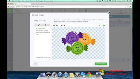 Ảnh chụp màn hình Image Cut cho Windows 7