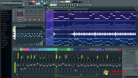 Ảnh chụp màn hình FL Studio cho Windows 7