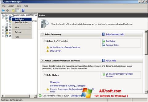 Ảnh chụp màn hình Open Server cho Windows 7