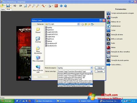 Ảnh chụp màn hình Nero PhotoSnap cho Windows 7