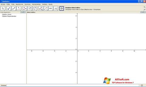 Ảnh chụp màn hình GeoGebra cho Windows 7