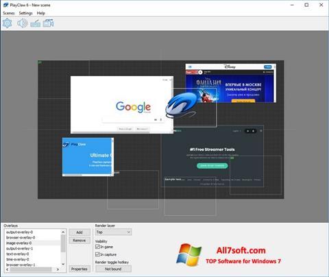 Ảnh chụp màn hình PlayClaw cho Windows 7