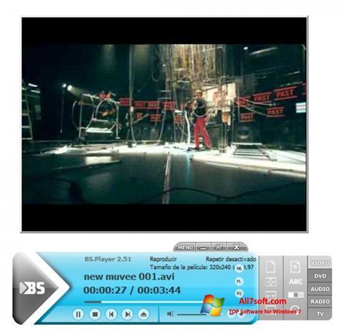 Ảnh chụp màn hình BSPlayer cho Windows 7