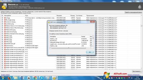 Ảnh chụp màn hình Recuva cho Windows 7
