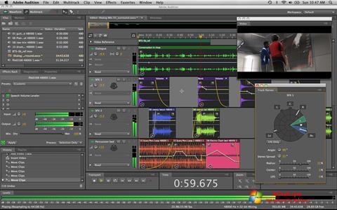 Ảnh chụp màn hình Adobe Audition cho Windows 7