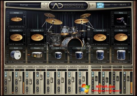 Ảnh chụp màn hình Addictive Drums cho Windows 7