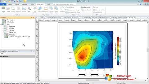 Ảnh chụp màn hình Surfer cho Windows 7