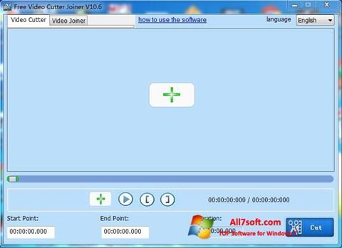 Ảnh chụp màn hình Free Video Cutter cho Windows 7