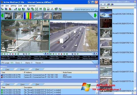 Ảnh chụp màn hình Active WebCam cho Windows 7