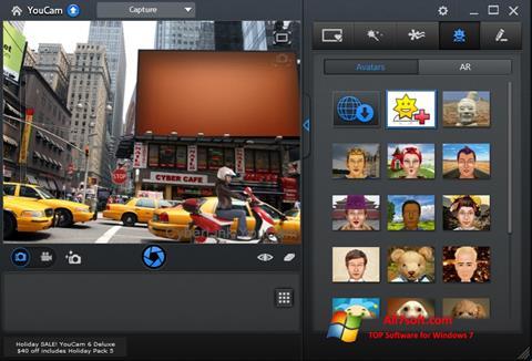 Ảnh chụp màn hình CyberLink YouCam cho Windows 7